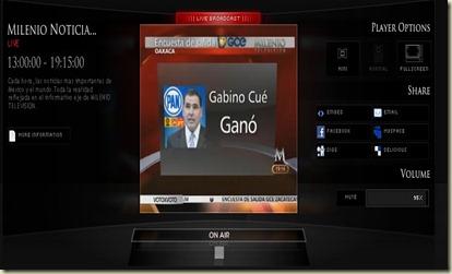 MILENI TV GANA  CUE