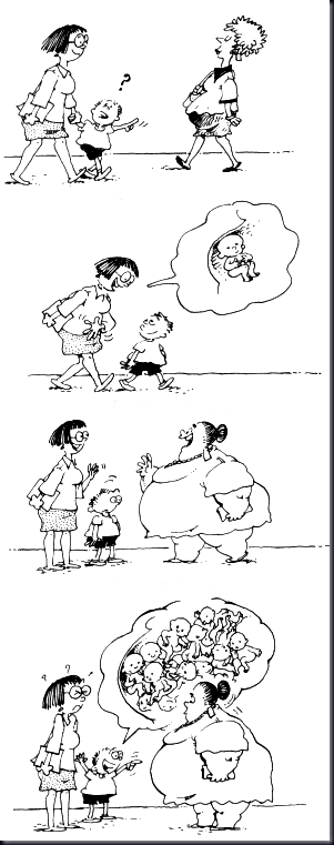 "Image from ""Papá en prácticas"" blog (drawings by Sergio Aragonés)"