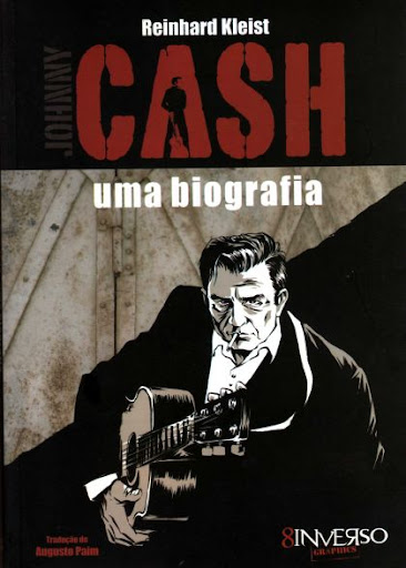 Capa de &quot;Johnny Cash - uma biografia&quot; (imagem de divulgao)