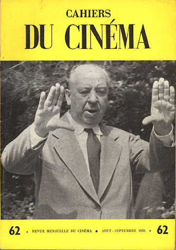"Capa da ""Cahiers du Cinéma"" com Alfred Hitchcock (Foto: Internet)"