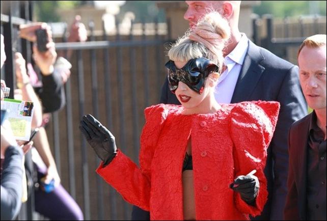 Lady Gaga jay leno 2 14 2011