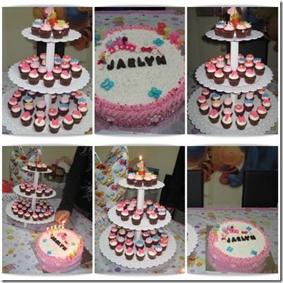 Jaelyn cupcake cake