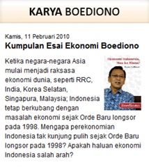 Karya Boediono