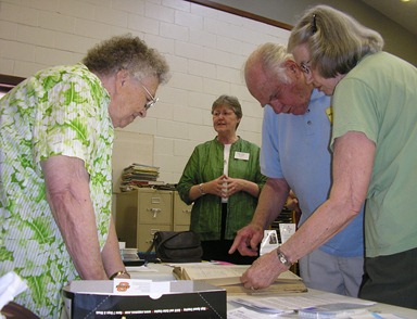 Registration at Great Plains Yearly Meeting, 2008