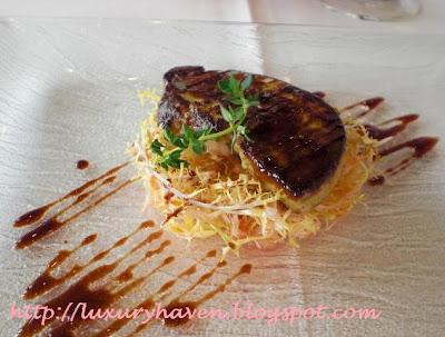 il lido italian restaurant sentosa goose liver foie gras