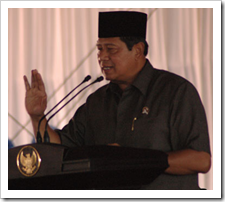 Bapak Susilo Bambang Yudhoyono sudah lupa nama hari