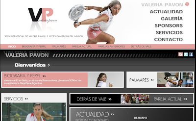 Valeria Pavón web oficial