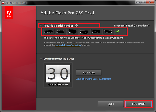 adobe flash cs5 + crack & keygen