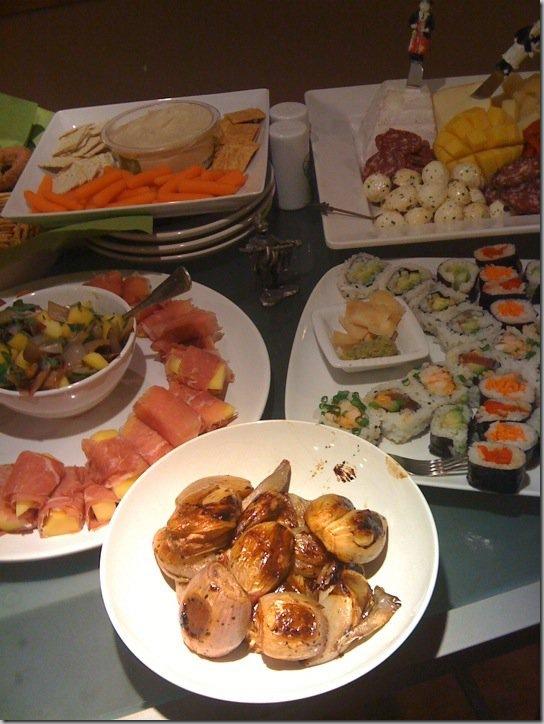 NYE dinner2