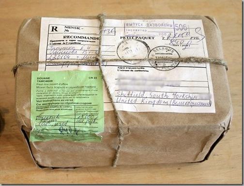 brown paper package