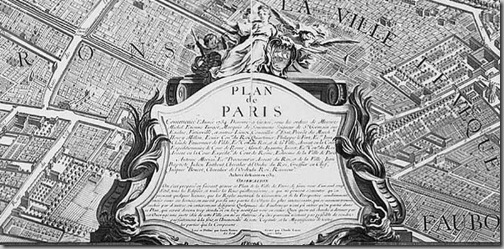 Plan de Paris, Turgot's Map of Paris 1739