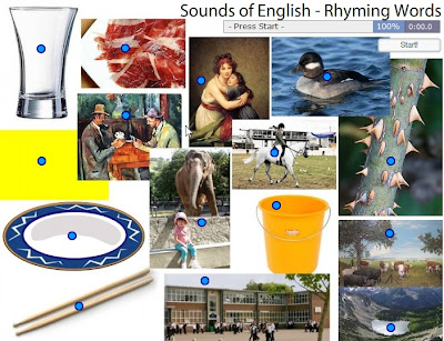 Chiew's CLIL EFL ESL Blog: Rhyming Words