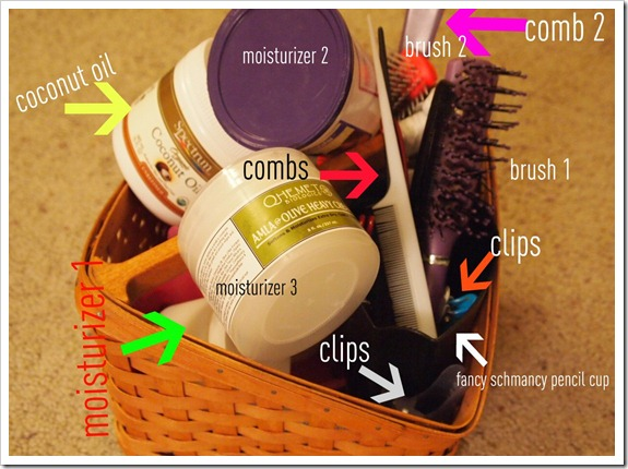 hair basket