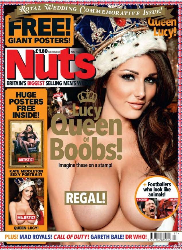 Lucy Pinder Nuts UK Abril 2011