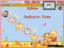 enlace para descargar tema Blackberry 9300 Winnie Pooh para celulares
