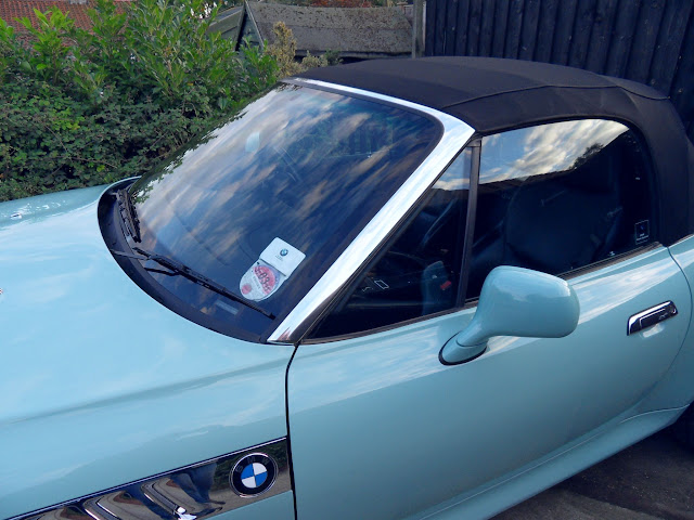 Chrome Windscreen Surround Fitted Zroadster Net