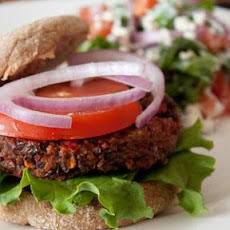 Vegan Black Bean Burgers