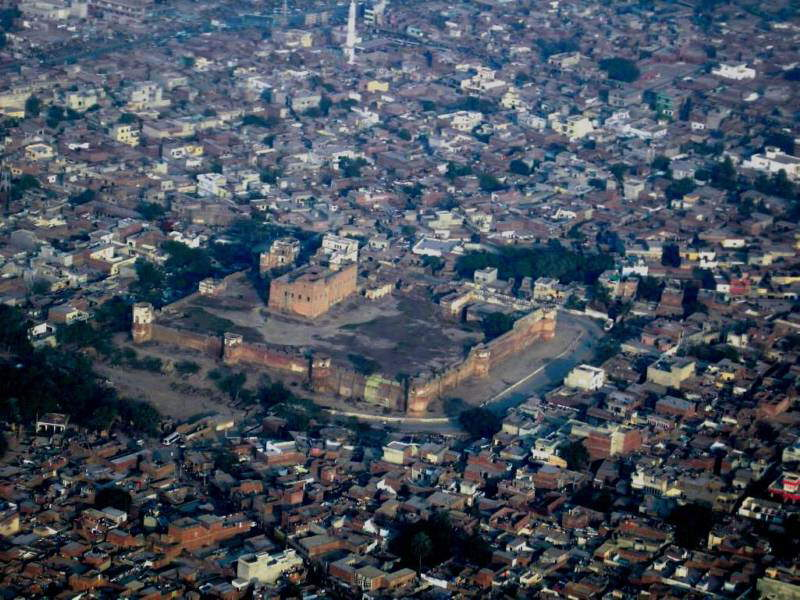 The Aerial Views of Lahore, Pakistan