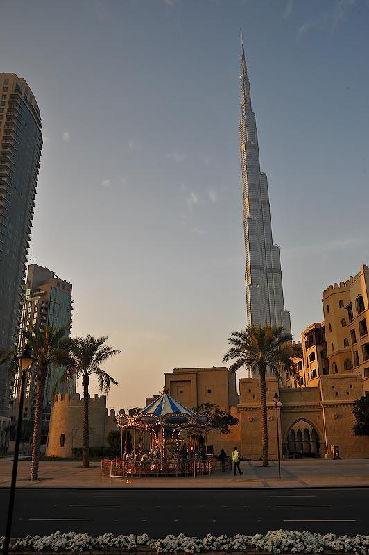 Burj Khalifa - A view from the top