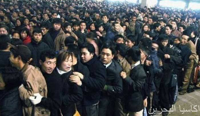 Unbelieveable Scene at a Bus Station in China !!!