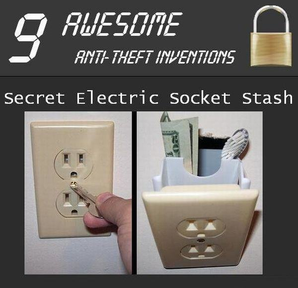 Ingenious Anti-Theft creations