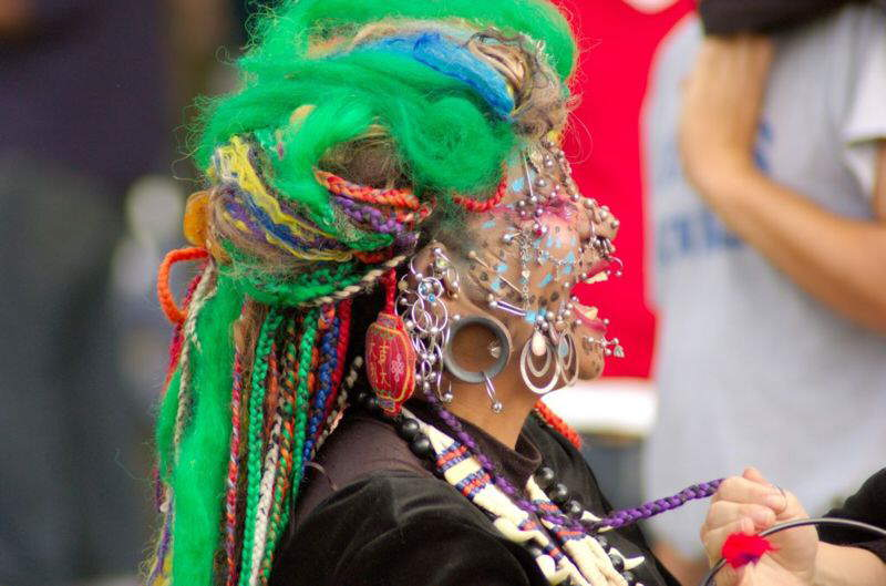 World's most pierced woman adds to her collection with 6,005th piercing!