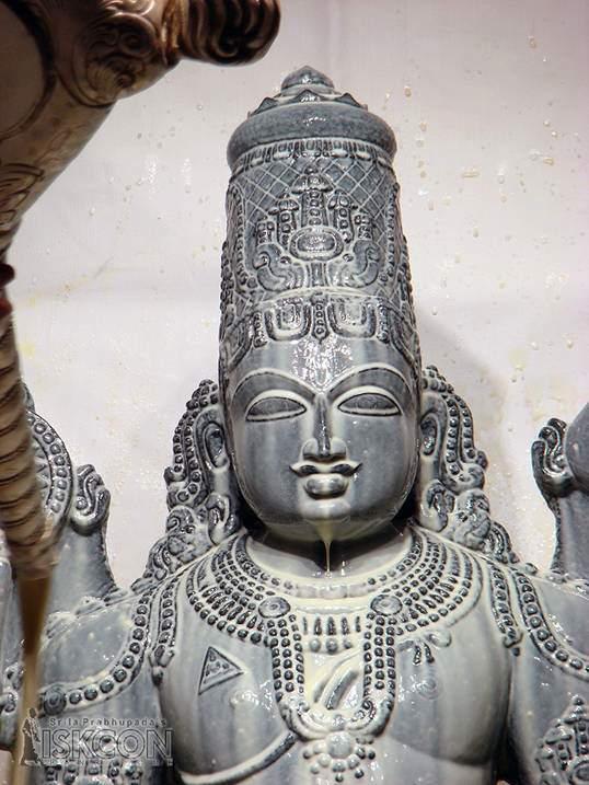 Lord Srinivasa Govinda at ISKCON, Bangalore