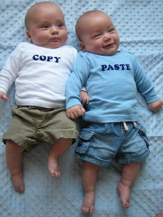 How Twins are made.........Cute