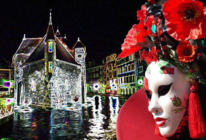 VENICE CARNIVAL IN DIGITAL ART