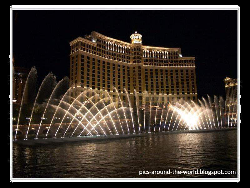 Amazing dancing fountains