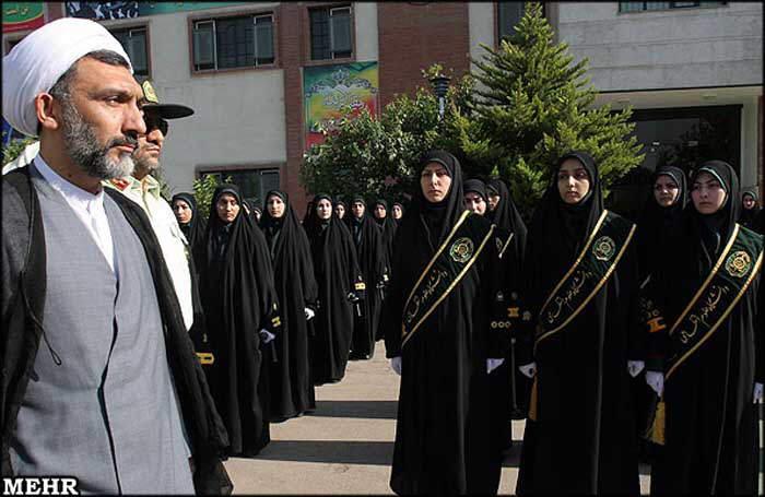 Women Police of IRAN