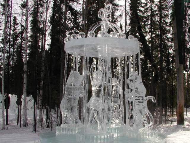 Pictures from Lake Placid, NY Ice Festival - Incredibly beautiful!