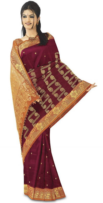 Hand Woven Kanchipuram Sarees: Finest Silk Sarees for that Ethnic Indian Looks