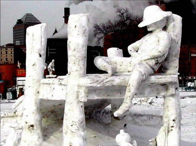 Amazing Snow Art from Breckenridge Snow Sculpture Competition (Colorado)