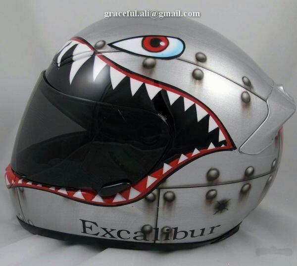 Helmet Art - Wild Animal / Super Hero Themes