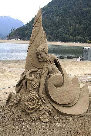 This year's sand castles competition - stunning ...the best