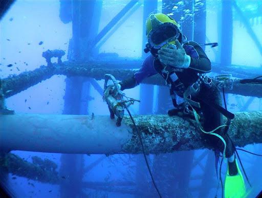 Underwater welding photos engineering at it s best