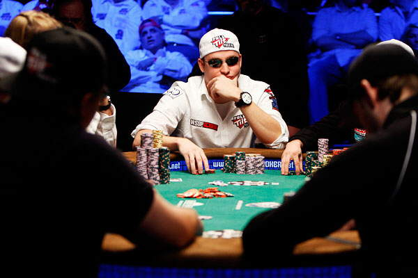 Photos from a Poker Tournament