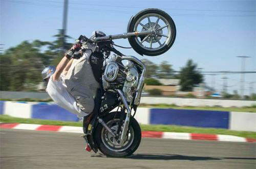 Crazy Bike Wheelies