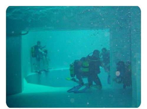 Nemo33 in Belgium: World's Deepest Swimming Pool designed for Deep-Diving Practice