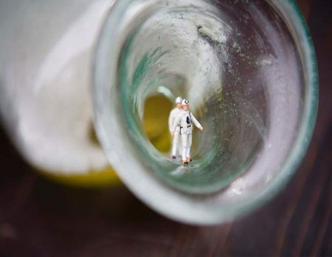 Miniature Art Created by Akiko Ida and Pierre Javelle