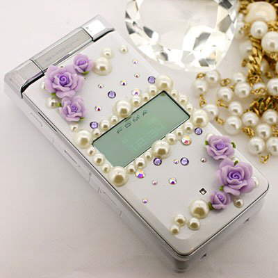 Accessorized and Bejeweled Female Phones