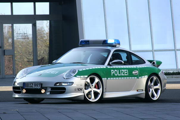 Stylish Police Cars