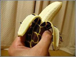 Banana Painting: Art on Banana