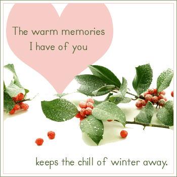Romance in Winter..!!! Love Cards