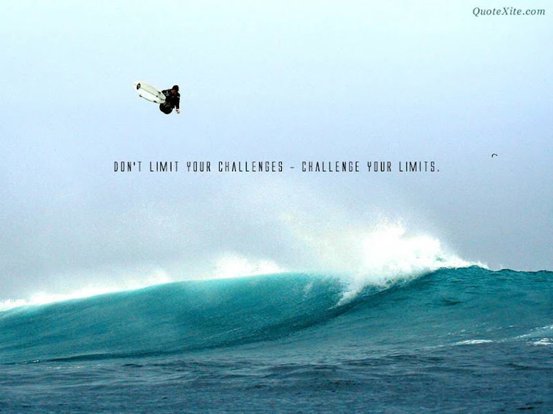 Don't Limit your Challenges... Good Morning