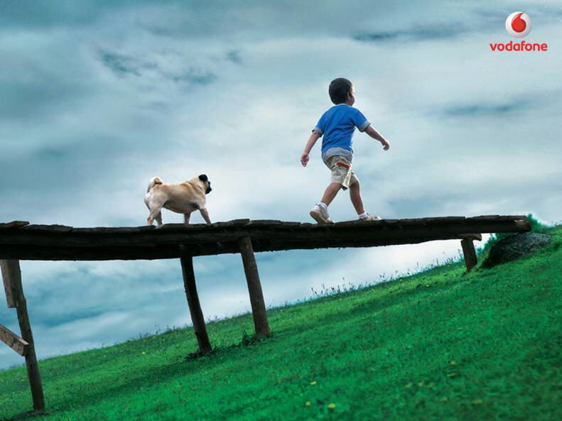 Whereever You Go: Vodafone Print Ads