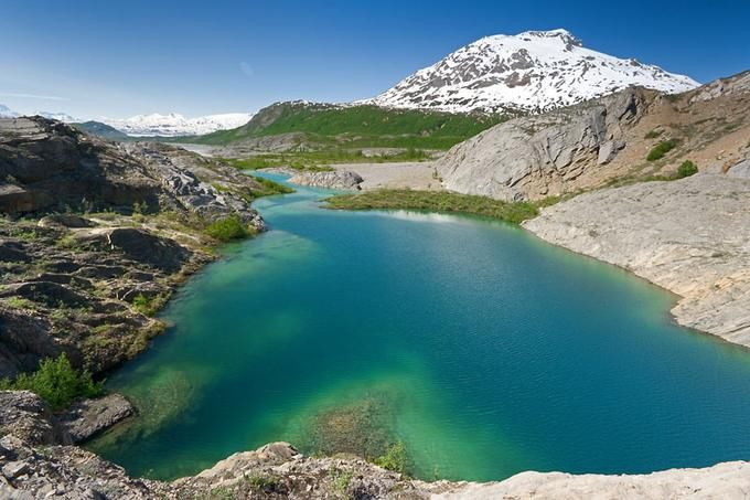 Beautiful Photos of Alsek River Lake, Canada