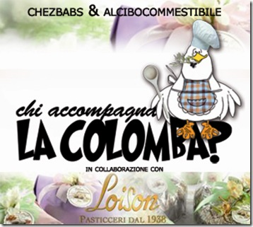Chi accompagna al colomba con Loison