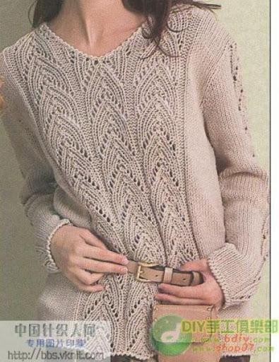 漂亮毛衣 - 阿明的手工坊 - 千针万线